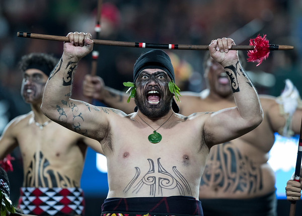 Maori Toa Groupduring game 6 of the British and Irish Lions 2017 Tour of New Zealand,The match between  The Chiefs and British and Irish Lions, FMG Stadium, Hamilton, Tuesday 20th June 2017 (Photo by Kevin Booth Steve Haag Sports)  Images for social media must have consent from Steve Haag