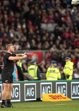 Nathan Harris  during game 7 of the British and Irish Lions 2017 Tour of New Zealand, the first Test match between  The All Blacks and British and Irish Lions, Eden Park, Auckland, Saturday 24th June 2017 (Photo by Kevin Booth Steve Haag Sports)  Images for social media must have consent from Steve Haag
