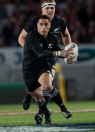Aaron Smith during game 7 of the British and Irish Lions 2017 Tour of New Zealand, the first Test match between  The All Blacks and British and Irish Lions, Eden Park, Auckland, Saturday 24th June 2017 (Photo by Kevin Booth Steve Haag Sports)  Images for social media must have consent from Steve Haag