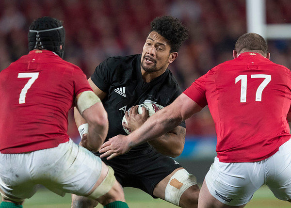 Ardie Savea during game 7 of the British and Irish Lions 2017 Tour of New Zealand, the first Test match between  The All Blacks and British and Irish Lions, Eden Park, Auckland, Saturday 24th June 2017 (Photo by Kevin Booth Steve Haag Sports)  Images for social media must have consent from Steve Haag