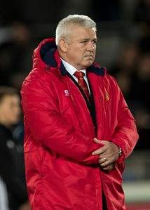 Warren Gatland during game 7 of the British and Irish Lions 2017 Tour of New Zealand, the first Test match between  The All Blacks and British and Irish Lions, Eden Park, Auckland, Saturday 24th June 2017 (Photo by Kevin Booth Steve Haag Sports)  Images for social media must have consent from Steve Haag