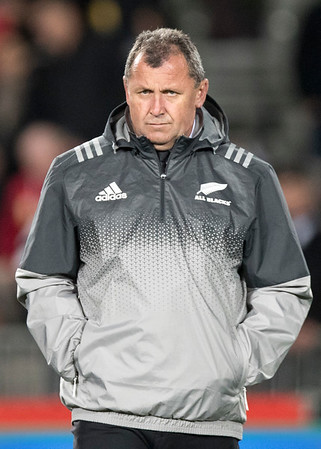 Ian Foster during game 7 of the British and Irish Lions 2017 Tour of New Zealand, the first Test match between  The All Blacks and British and Irish Lions, Eden Park, Auckland, Saturday 24th June 2017 (Photo by Kevin Booth Steve Haag Sports)  Images for social media must have consent from Steve Haag