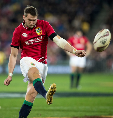 Dan Biggar during game 8 of the British and Irish Lions 2017 Tour of New Zealand,The match between  Hurricanes and British and Irish Lions, Westpac Stadium, Wellington, Tuesday 27th June 2017 (Photo by Kevin Booth Steve Haag Sports)  Images for social media must have consent from Steve Haag