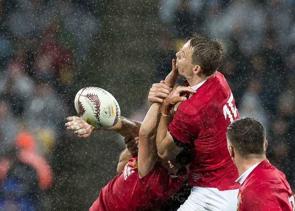 Liam Williams during game 9 of the British and Irish Lions 2017 Tour of New Zealand, the second Test match between  The All Blacks and British and Irish Lions, Westpac Stadium, Wellington, Saturday 1st July 2017 (Photo by Kevin Booth Steve Haag Sports)  Images for social media must have consent from Steve Haag