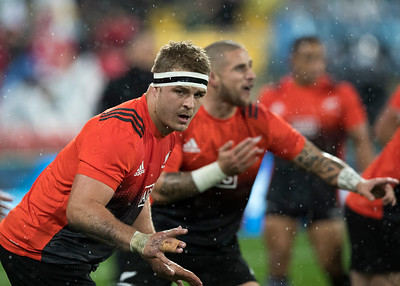 Sam Cane  during game 9 of the British and Irish Lions 2017 Tour of New Zealand, the second Test match between  The All Blacks and British and Irish Lions, Westpac Stadium, Wellington, Saturday 1st July 2017 (Photo by Kevin Booth Steve Haag Sports)  Images for social media must have consent from Steve Haag