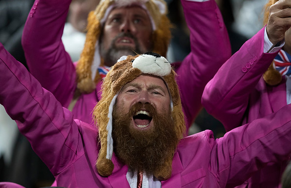 British & Irish Lions Fan during game 9 of the British and Irish Lions 2017 Tour of New Zealand, the second Test match between  The All Blacks and British and Irish Lions, Westpac Stadium, Wellington, Saturday 1st July 2017 (Photo by Kevin Booth Steve Haag Sports)  Images for social media must have consent from Steve Haag