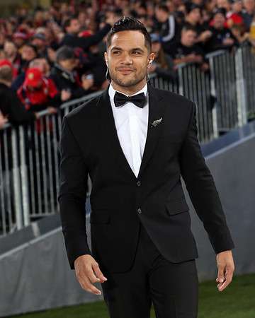 Nick Afoa during game 10 of the British and Irish Lions 2017 Tour of New Zealand, the third Test match between  The All Blacks and British and Irish Lions, Eden Park, Auckland, Saturday 8th July 2017 (Photo by Kevin Booth Steve Haag Sports)  Images for social media must have consent from Steve Haag