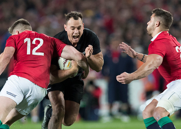 Israel Dagg during game 10 of the British and Irish Lions 2017 Tour of New Zealand, the third Test match between  The All Blacks and British and Irish Lions, Eden Park, Auckland, Saturday 8th July 2017 (Photo by Kevin Booth Steve Haag Sports)  Images for social media must have consent from Steve Haag