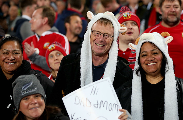 Taylors during game 10 of the British and Irish Lions 2017 Tour of New Zealand, the third Test match between  The All Blacks and British and Irish Lions, Eden Park, Auckland, Saturday 8th July 2017 (Photo by Kevin Booth Steve Haag Sports)  Images for social media must have consent from Steve Haag