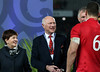 Patsy Reddy and John Spencer during game 10 of the British and Irish Lions 2017 Tour of New Zealand, the third Test match between  The All Blacks and British and Irish Lions, Eden Park, Auckland, Saturday 8th July 2017<br /> (Photo by Kevin Booth Steve Haag Sports)<br /> <br /> Images for social media must have consent from Steve Haag