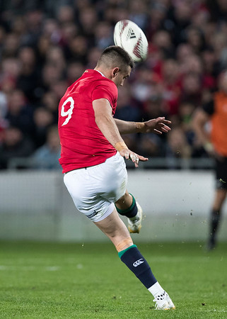 Conor Murray during game 10 of the British and Irish Lions 2017 Tour of New Zealand, the third Test match between  The All Blacks and British and Irish Lions, Eden Park, Auckland, Saturday 8th July 2017 (Photo by Kevin Booth Steve Haag Sports)  Images for social media must have consent from Steve Haag