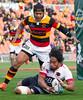 , Waikato v North Harbour, 27 August 2016,Mitre 10 Cup, Provincial Rugby Union, Waikato Stadium, Hamilton, Waikato, New Zealand, Credit: Sportpix - David Wheadon