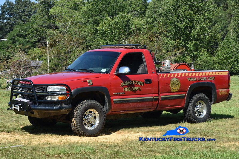 Jamestown Brush 5<br /> 2001 Chevy 2500 4x4/FD 250/200<br /> Greg Stapleton photo