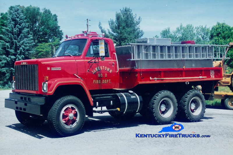 Jamestown  Tanker 2<br /> 1981 GMC/Local 250/2100<br /> Greg Stapleton photo