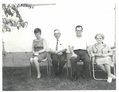 Aunty Eva, Zaida, Dad and Baba