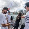 Team Malizia at the TJV Transat Jacques Vabre 2019 race from Le Havre, France, to Salvador da Baía, Brasil.