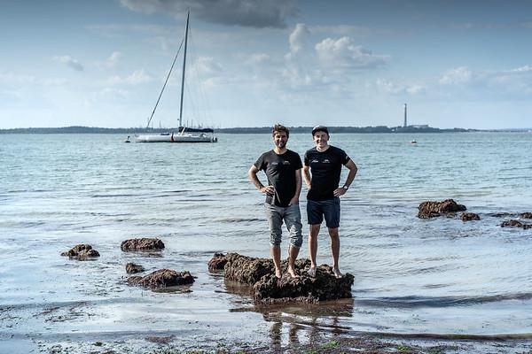 01 08 2019 Fastnet - Boris & Will