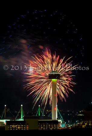 San Antonio July 4th 2013