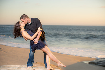 Windansea Engagement Photography
