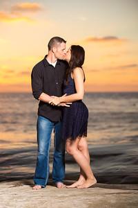 La Jolla Beach Engagement Photography