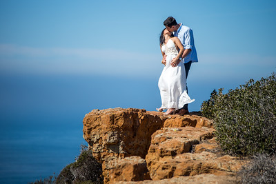 Cabrillo National Monument Engagement Photography