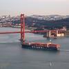 171210-SF-GGB-0007<br /> Golden Gate Bridge and Cargo Ship #1