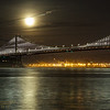 SF-180131-0022<br /> Bay Bridge and the Super Blue  Moon 6