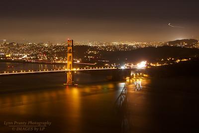 SF/GG-120114-0002 Golden Gate Bridge Approach Reflections