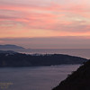 171210-SF-GGB-0008<br /> Sunset Looking across the Golden Gate down the Coast