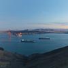 171210-SF-GGB-0013<br /> Golden Gate Bridge and Cargo Ship #5