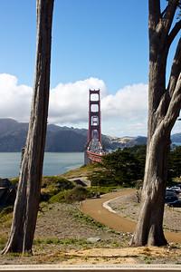 SF/GG-120625-0002 Golden Gate Bridge with San Francisco