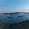 171210-SF-GGB-0012<br /> Golden Gate Bridge and Cargo Ship #4