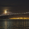 SF-180131-0019<br /> Bay Bridge and the Super Blue  Moon 3