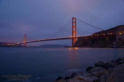 GGB/SF/CP-160705-0001 Golden Gate Bridge under a High Overcast