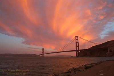 GGB/SF/CP-160620-0007a Clouds Above Golden Gate Bridge