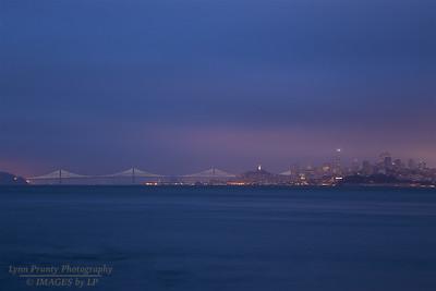 GGB/SF/CP-160705-0002 Bay Bridge and San Francisco