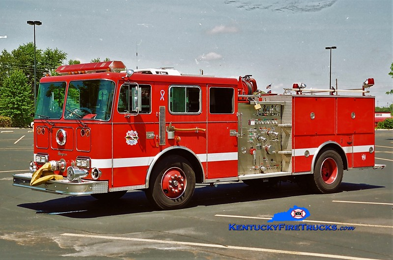 RETIRED <br /> Georgetown Reserve Engine 4 <br /> x-Cincinnati, OH <br /> 1990 Seagrave JB 1250/500 <br /> Greg Stapleton photo