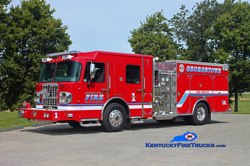 Georgetown  Engine 1<br /> 2013 Spartan Metro Star ERV 1500/750/30<br /> Kent Parrish photo