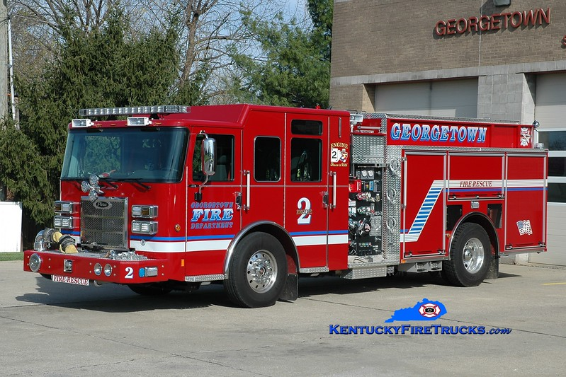 Georgetown  Engine 2<br /> 2015 Pierce Saber 1500/750/30<br /> Greg Stapleton photo