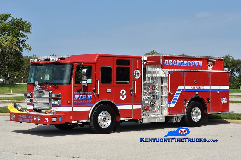 Georgetown  Engine 3<br /> 2017 Pierce Enforcer 1500/750/30<br /> Greg Stapleton photo