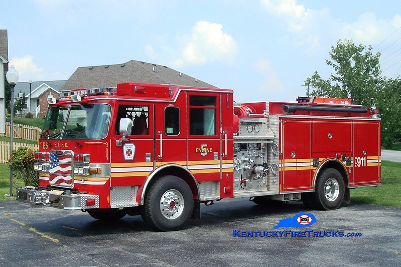 <center> Scott County  Engine 5  <br> 2009 Pierce Arrow XT 1500/1000 <br> Greg Stapleton photo </center>
