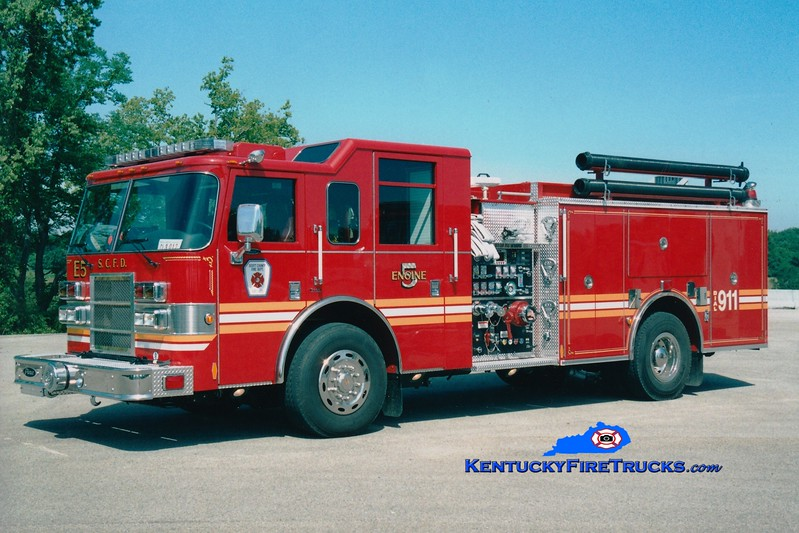 <center> Scott County  Reserve Engine 9  <br> x-Engine 5 <br> 2005 Pierce Dash 1500/1000 <br> Greg Stapleton photo </center>