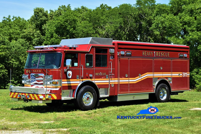 Scott County Rescue 1<br /> 2021 Pierce Arrow XT<br /> Greg Stapleton photo