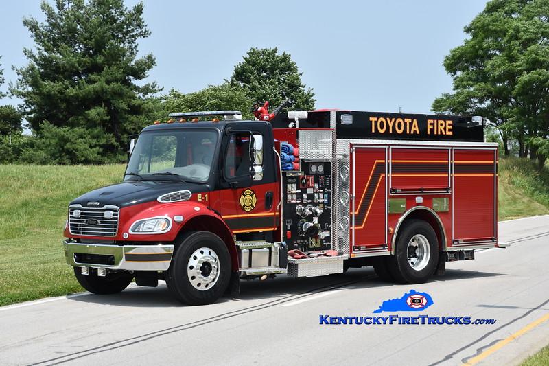 Toyota Engine 1<br /> 2018 Freightliner M2-106/Pierce 1500/750/250F<br /> Greg Stapleton photo