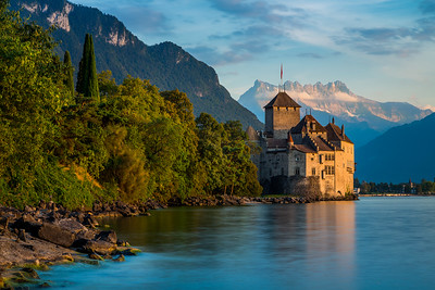 Chateau Chillon / Montreux, Switzerland