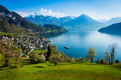 Spring time / Vitznau, Switzerland
