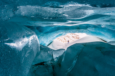 Zinal glacier / Val d'Anniviers, Switzerland