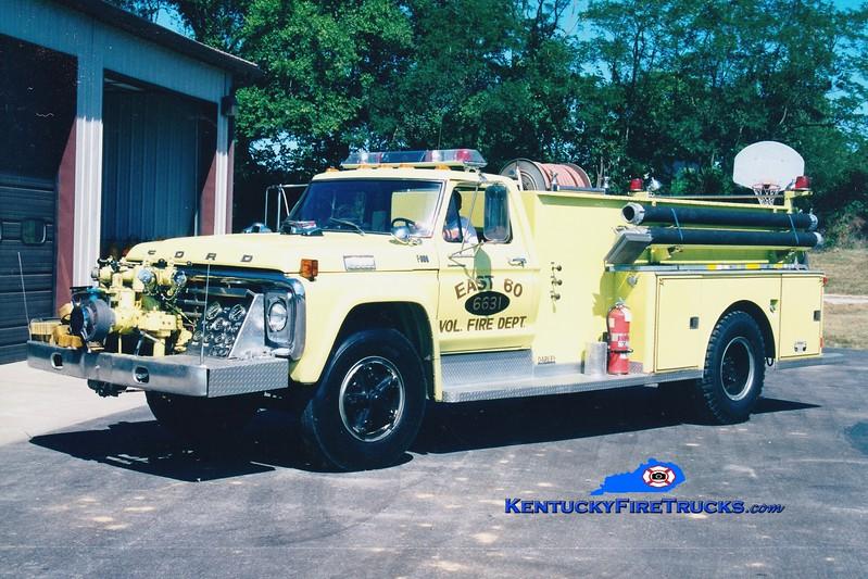 <center> RETIRED <br> East 60  Engine 6631  <br> 1979 Ford F/Darley 1000/750 <br> Greg Stapleton photo </center>