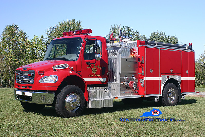 <center> Mt Eden  Engine 9932  <br> 2005 Freightliner M2/E-One 1250/1000 <br> Kent Parrish photo </center>