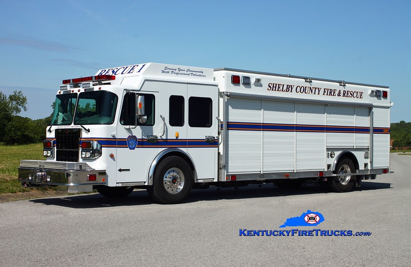 <center> Shelby County  Rescue 3381  <br> 2014 Spartan Metro Star/Hackney <br> Kent Parrish photo </center>